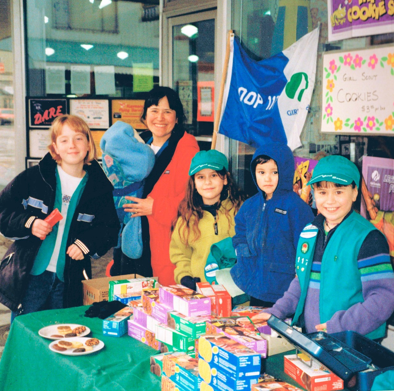 Year 1999 Troop 4112 Booth Sales