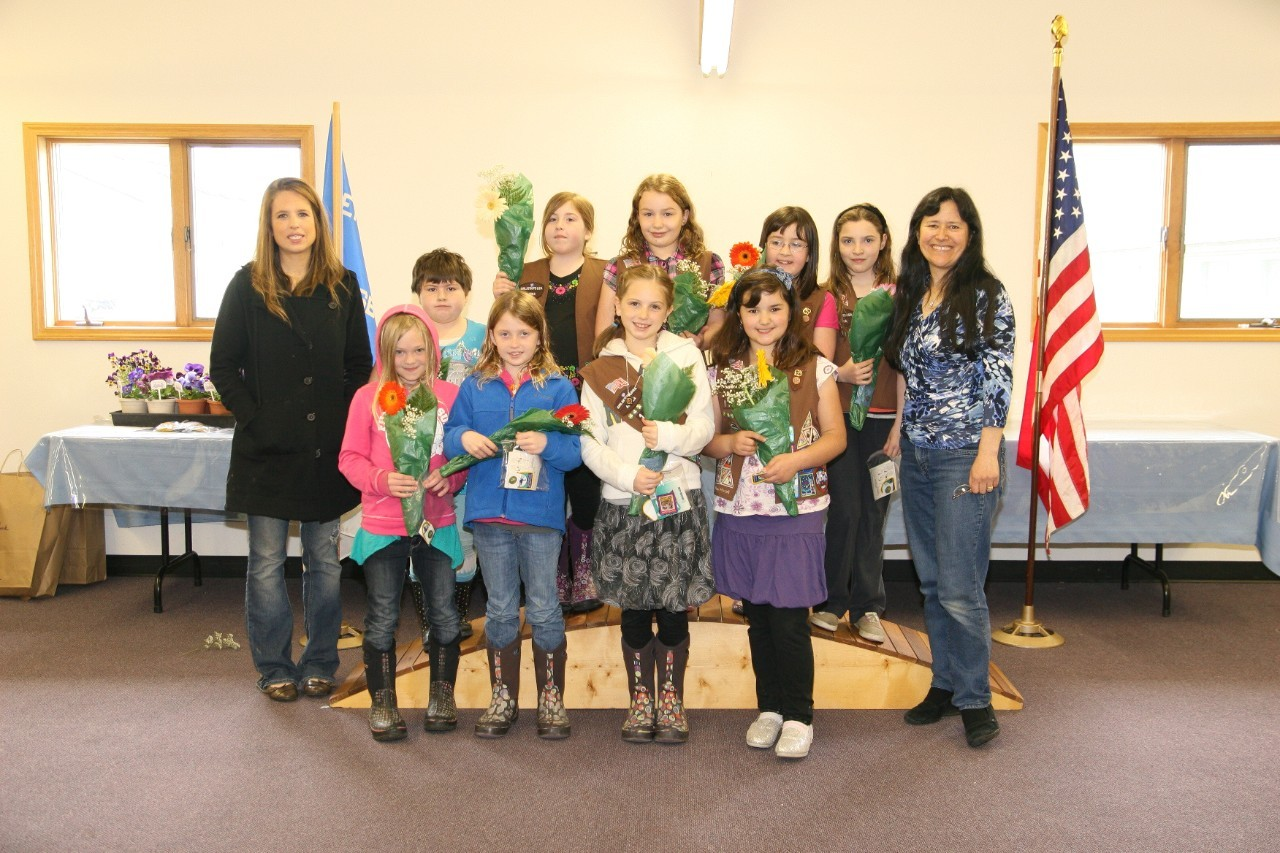 Year 2012 Troop 4111 Brownies