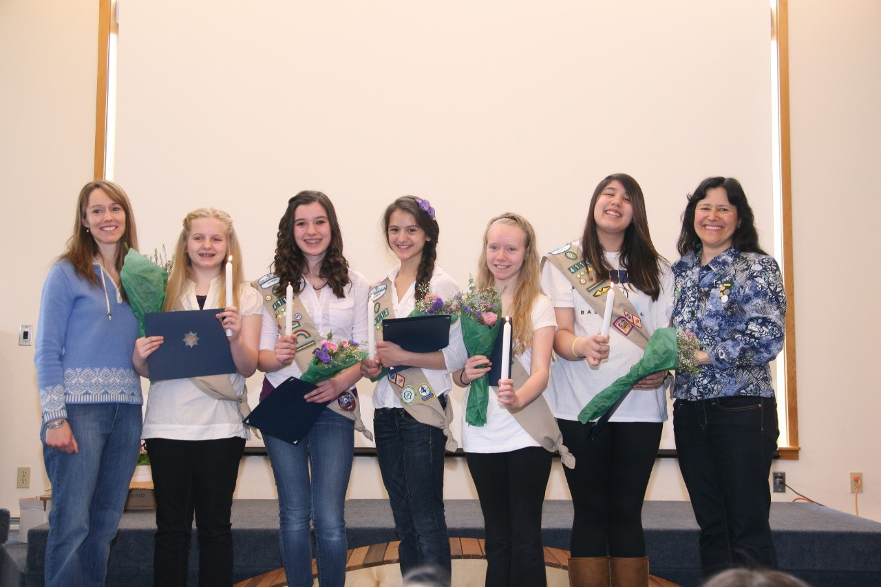Year 2013 Cadette Silver Award Troop 4112